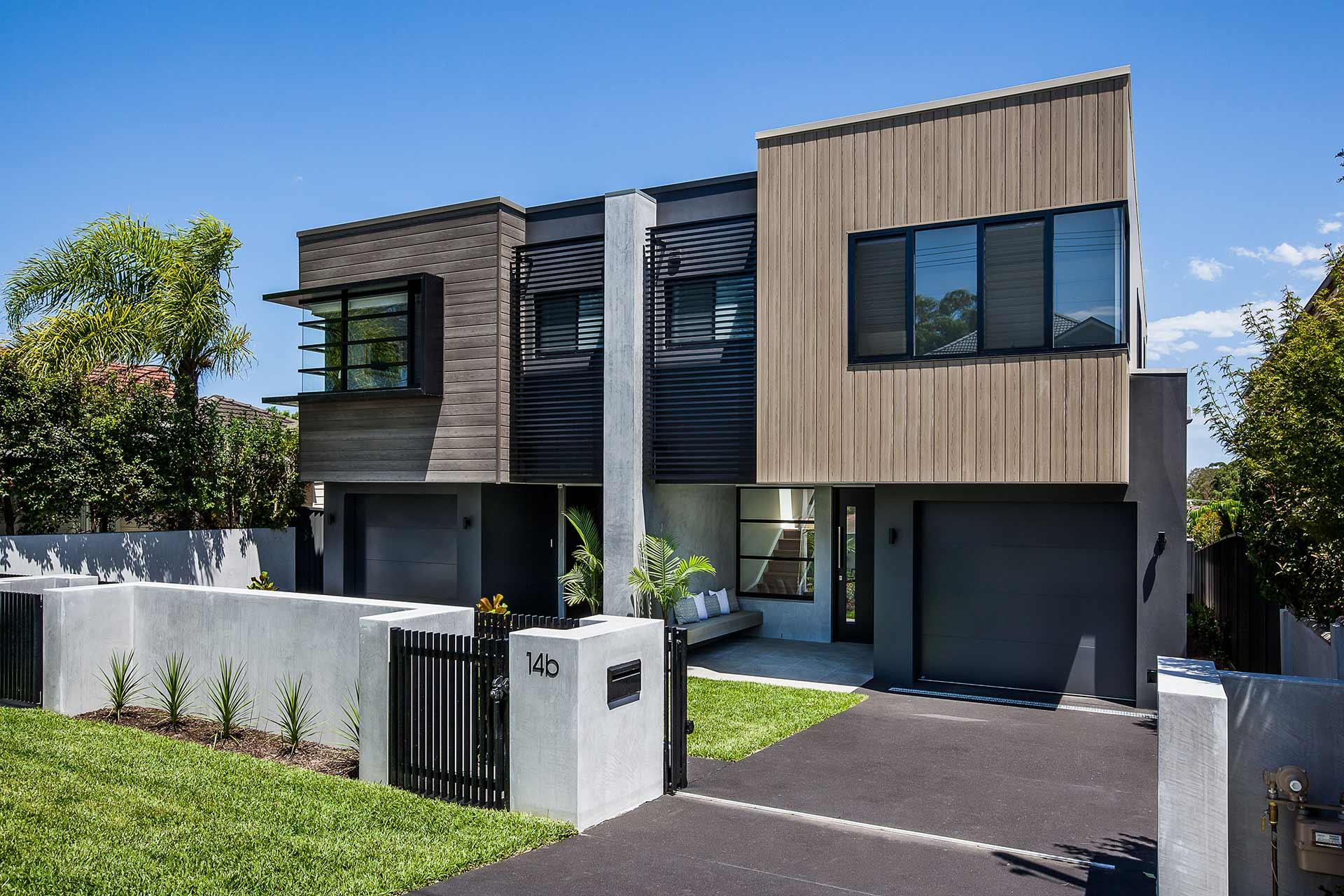 Woolooware dual occupancy 1 jamisa design for Dual occupancy home designs